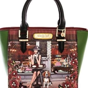 Nicole Lee Bags Lauren Goes Coffee Break Satchel